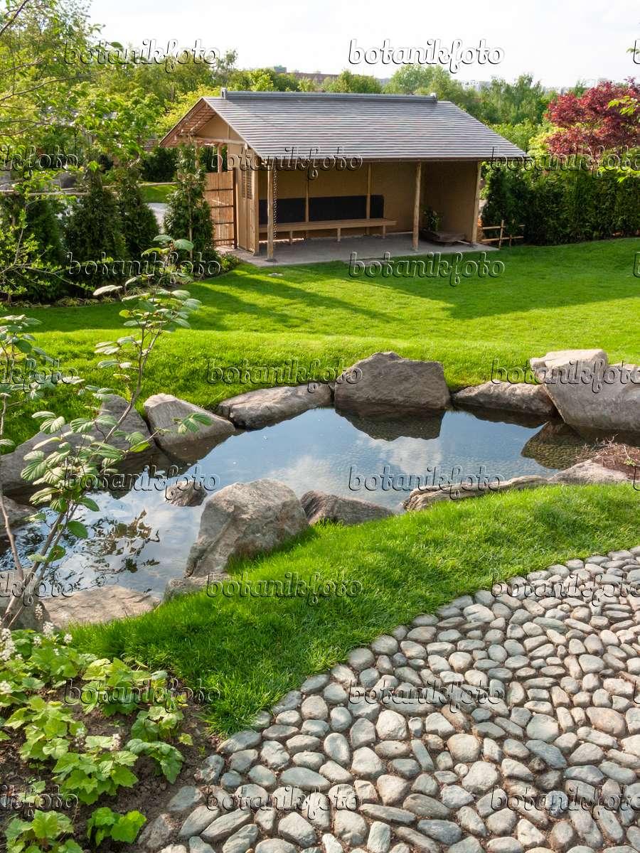 Bild Japanischer Garten, Erholungspark Marzahn, Berlin, Deutschland ...