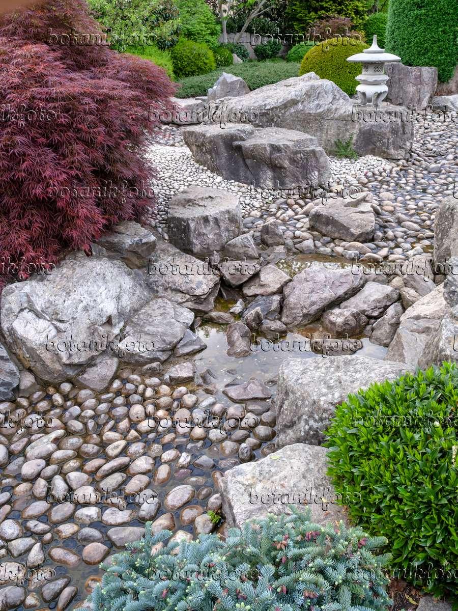 japanischer steingarten vorgarten 2 – performal, Garten ideen gestaltung