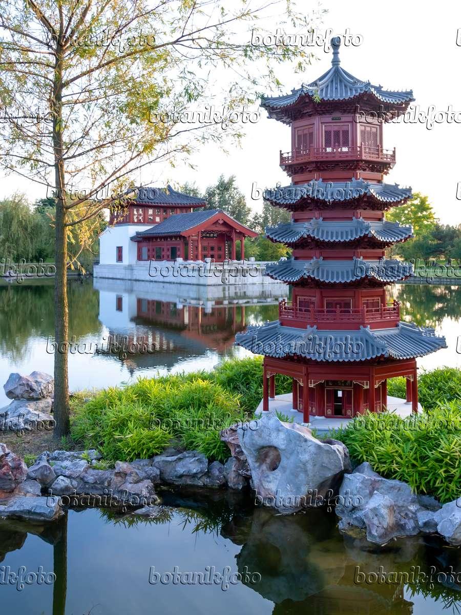 bild pagode chinesischer garten erholungspark marzahn berlin deutschland 429055 bilder. Black Bedroom Furniture Sets. Home Design Ideas