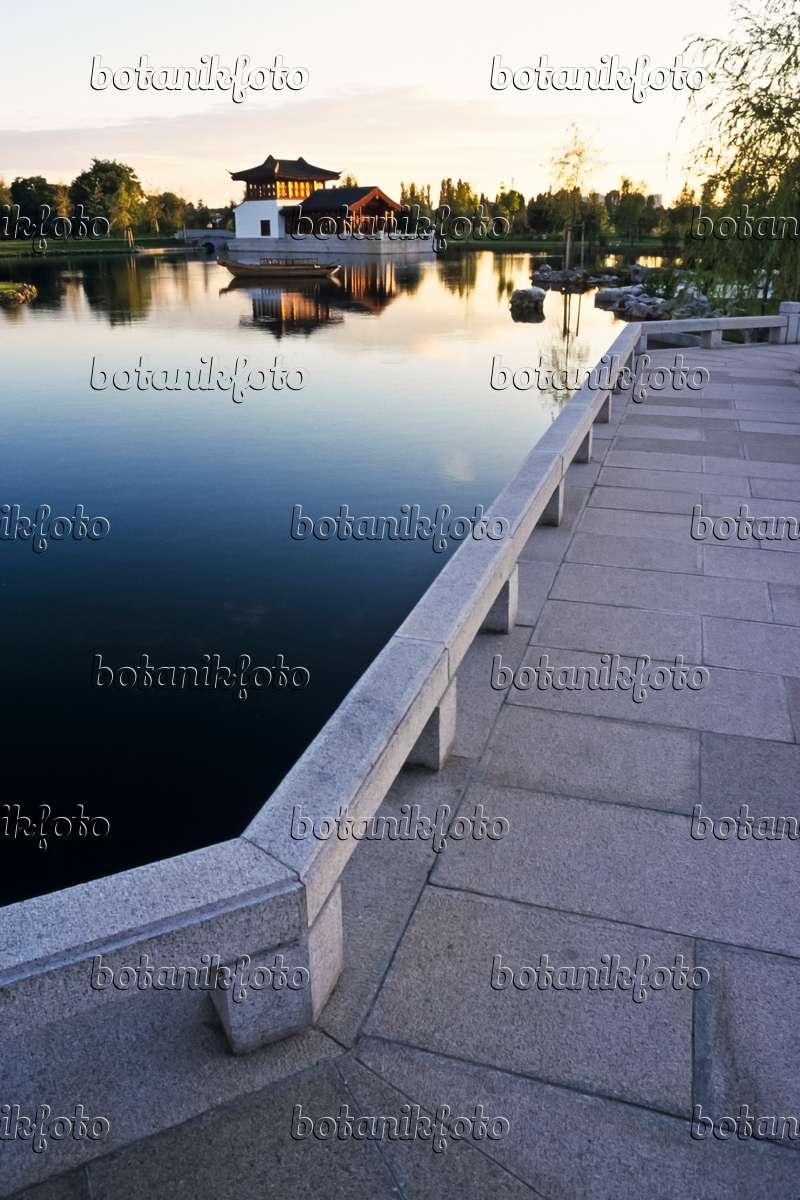Bild Zick-Zack-Brücke, Chinesischer Garten, Erholungspark Marzahn ...