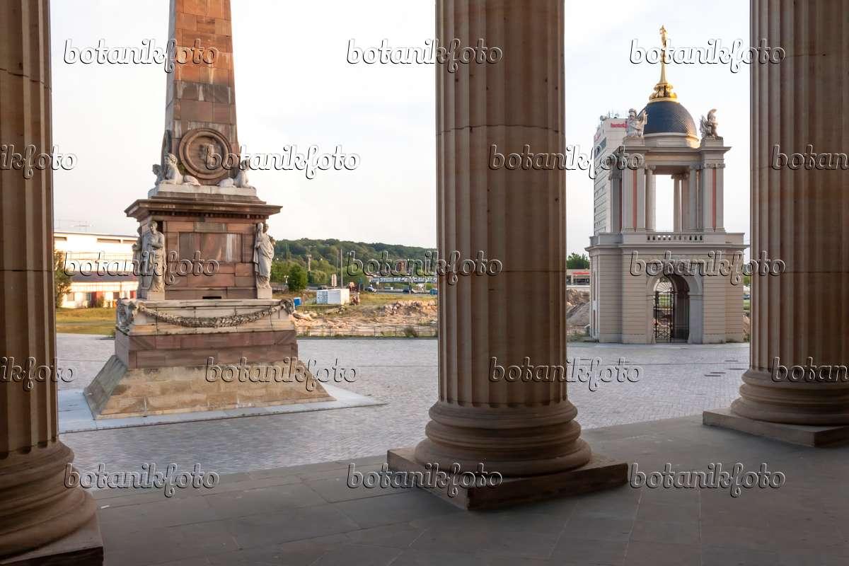 image obelisk and fortuna portal alter markt potsdam germany 452075 images and videos of. Black Bedroom Furniture Sets. Home Design Ideas