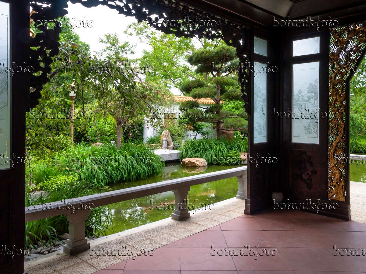 image view from an asian house chinese garden westpark munich germany 426089 images and. Black Bedroom Furniture Sets. Home Design Ideas